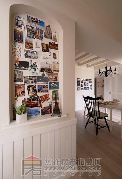 68平米小户型田园风格两房装修 温馨乡村风